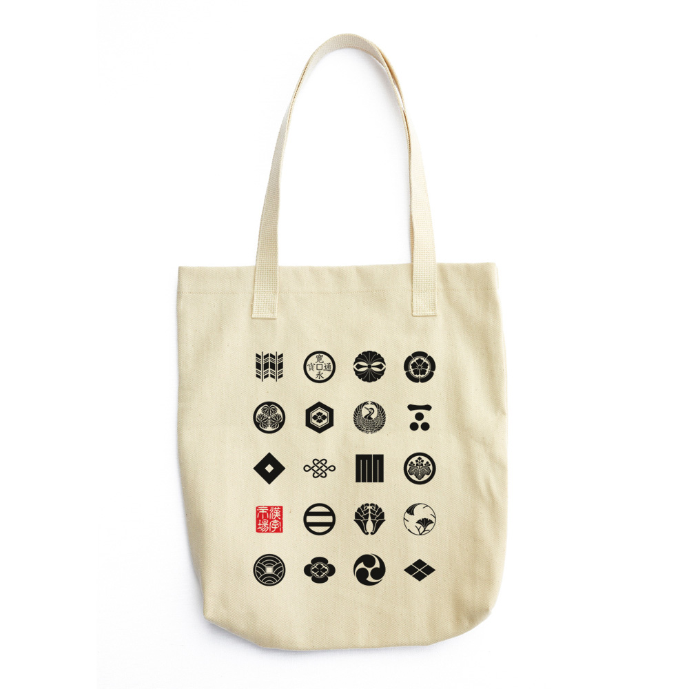 19 家紋 (Kamon) Japanese crests design Tote Bag
